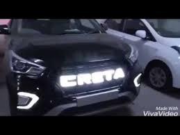 <b>Решетка радиатора Led</b> на Hyundai Creta (Крета 2 Клуб) - YouTube