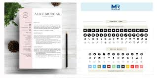 40 Best 40's Creative ResumeCV Templates Printable DOC Custom Resume Background