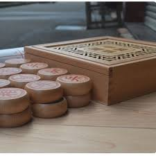 Board Games In Wooden Box 100 Set Chinese Chess Queen Boutique Gift Leather Chess Board Wooden 92