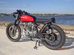 1971 honda cb450 tracker style cafe racer new build