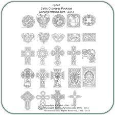 Wood Carving Patterns Interesting Celtic Crosses Panels Patterns Classic Carving Patterns