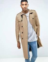 beige trench coat mens river island long trench coat beige larger image beige trench coat mens