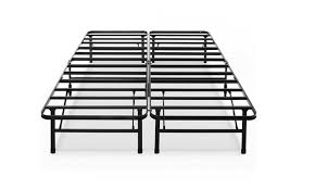 steel box spring.  Box Metal Platform Bed Frame Classic Steel Box Spring Replacement King In