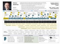 Visual Cv Resume Timeline Michel Berthus 1 A4 Final V12 2017