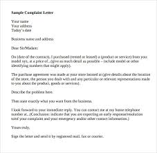 Ideas Collection Format Of A Complaint Letter Pdf In Service ...