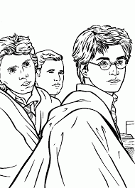 Small Picture Download Coloring Pages Harry Potter Coloring Page Harry Potter