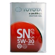 «<b>Toyota</b> Castle <b>Motor Oil</b> 5W30 <b>Масло моторное</b> SN/CF (4л) 08880 ...