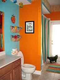 Orange Bathroom Decorating Ideas Orange Bathroom Bathroom Fascinating Orange Bathroom Decorating Ideas