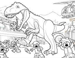 Small Picture Nice Jurassic Park T Rex Coloring Pages 7001 Jurassic Park T Rex