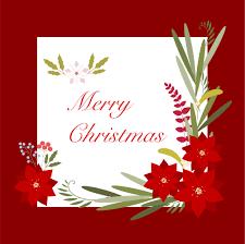Weihnachten Lässt Dekorative Grußkarte Download Kostenlos