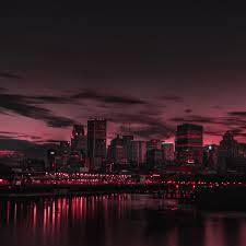 Wallpaper 4k city, night, panorama 4k ...