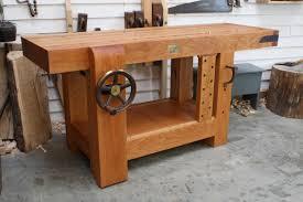 samurai carpenter workbench. workbench built in cherry samurai carpenter
