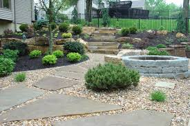 Small Picture backyard landscaping ideas with rocks new home design outdoor