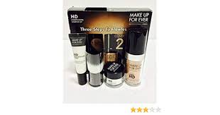 amazon make up for ever hd plexion starter kit 127 dark sand 1 kit makeup sets beauty