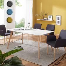 Finebuy Esstisch Mit 4 Stühlen Sv52134 Holz Esszimmertisch