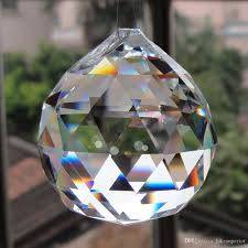 2019 new hot hanging clear crystal ball sphere prism pendant spacer beads for home wedding party light lamp chandelier decoration from lakesuperior