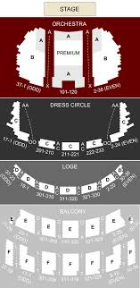 Cadillac Palace Theater Chicago Il Seating Chart Stage
