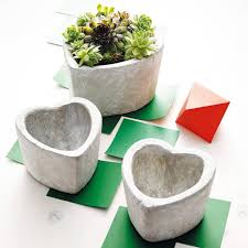 ... Planters Inspiration. Heart Shaped Planter