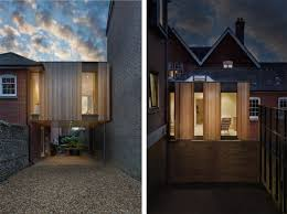 Pod Home The Austen House Is A Tiny Timber Clad Home Suspended Between Two