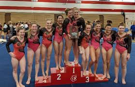 Marshfield finishes second at WIAA Division 1 gymnastics sectional,  qualifies for first state tournament - OnFocus