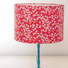 liberty blossom print handmade drum lampshade