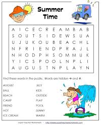 Are you ready for some summer fun? Super Teacher Worksheets has ...