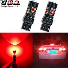 Details About Strobe Flashing Red 30 Led Blinking Bulbs Brake Tail Lights For Honda Civic Cr V