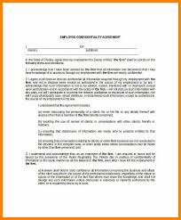 8+ Employee Confidentiality Agreement Template Free | This Is ...