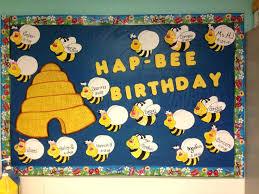 birthday bulletin board ideas hive and boys and girls bees my preschool bulletin boards bees birthdays