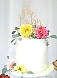 diy baby shower cake ideas best neutral on gender
