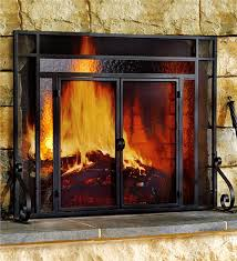 50 images of fireplace screen and glass doors extraordinary door screens steps to install for home ideas 0