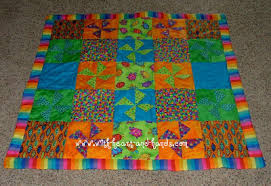 Michele Bilyeu Creates *With Heart and Hands*: April 2012 & My favorite baby quilts are always made in bright colors. I especially  loved my very first 3D baby quilt. Its three dimensional pinwheels made for  a fun ... Adamdwight.com