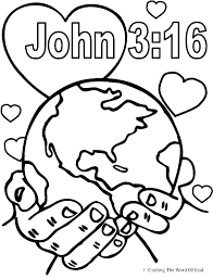 Bible Story Coloring Pages Printable Biblical For Ayushseminarmaha