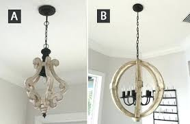 full size of white wood beads chandelier distressed farmhouse chandeliers entryway and living room fixtures