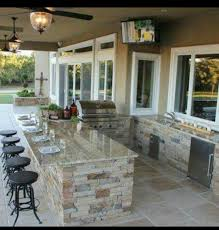 Indoor Outdoor Kitchen Pin By Aimee Finch On Back Yard Ideas Pinterest Outdoor Living