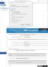 How To Create An Apa Title Page Using Dr Paper Software On A Windows Pc