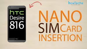 HTC Desire 816 dual sim - How to change ...