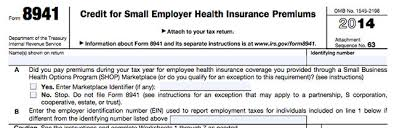 Payroll Tax Worksheet Employer Tax Credit Form 8941 And Instructions