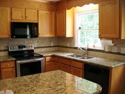 St Cecilia Light Granite Kitchens What Color Granite Countertops With Oak Cabinets