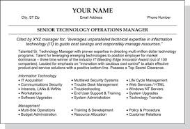 your - Objectives Section Of Resume
