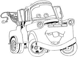 Small Picture How to Draw Tow Mater from Disney Cars Movie Drawings