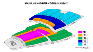 New Orleans Mahalia Jackson Theater Of The Performing Arts