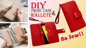 diy wallet phone case old bag transform no sew idea