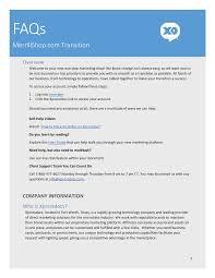MerrillShop.com Transition
