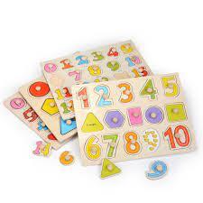 Zalami Bé Tay Cầm Nắm Đồ Chơi Xếp Hình Bằng Gỗ Tangram Ghép Hình Ban Phim  Hoạt Hình Cho Trẻ Em Đầu Giáo Dục|Puzzles