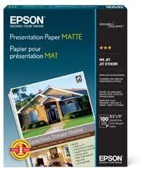 Epson S041062 Matte Presentation Paper, 27 lbs ... - Amazon.com