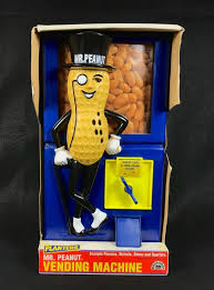 Mr Peanut Vending Machine Best Vintage 48 Broadway Toys Planters Mr Peanut Vending Machine