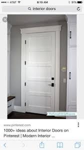 white interior door styles. Dark Hardware With White Doors Interior Door Styles W