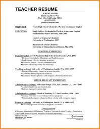 Best Resume Format For Teachers - Resume Sample