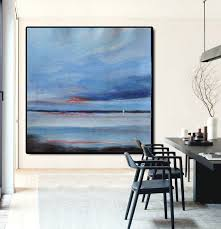 large abstract painting canvas art landscape painting on canvas acrylic painting wall art by